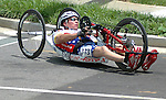 May 28, 2012:  The 2012 U.S. Handcycling National Championships, Greenville, SC.