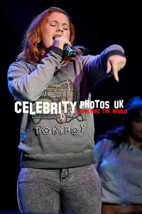 Katy B at the Girlguiding Big Gig  at LG Arena, Birmingham 1st June 2013  Photo by Brian Jordan/ Retna Pictures