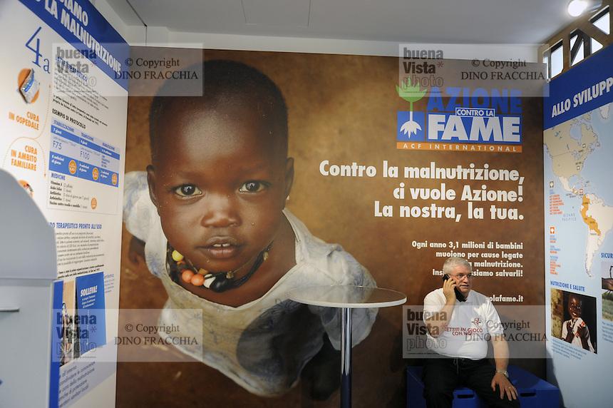 - Milano, Esposizione Mondiale Expo 2015, Cascina Triulza, spazio delle organizzazioni ONLUS<br /> <br /> - Milan, the World Exhibition Expo 2015, Cascina Triulza, area for NGO organizations