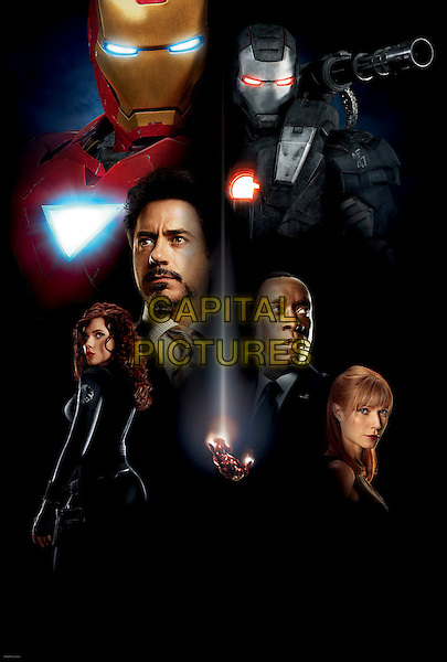 KEY POSTER ART.in Iron Man 2.*Filmstill - Editorial Use Only*.CAP/FB.Supplied by Capital Pictures.