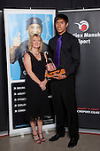 Junior Sportsman of the Year winner Reuben Te Rangi, Counties Manukau Basketball. Counties Manukau Sport Sporting Excellence Awards held at Testra Clear Pacific Events Centre, Manukau, on Thursday 9th December 2010.