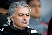 Man Utd Manager Jose Mourinho during the Premier League match between Bournemouth and Manchester United at the Goldsands Stadium, Bournemouth, England on 18 April 2018. Photo by Andy Rowland.