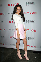 LOS ANGELES - MAY 12:  Lilimar Hernandez at the NYLON Young Hollywood May Issue Event at HYDE Sunset on May 12, 2016 in Los Angeles, CA