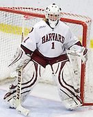 Laura Bellamy (Harvard - 1) - The Harvard University Crimson defeated the Boston College Eagles 5-0 in their Beanpot semi-final game on Tuesday, February 2, 2010 at the Bright Hockey Center in Cambridge, Massachusetts.