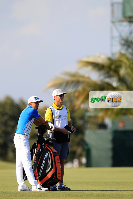 Rickie Fowler (USA) during the 2nd round at the WGC Cadillac Championship, Blue Monster, Trump National Doral, Doral, Florida, USA<br /> Picture: Fran Caffrey / Golffile