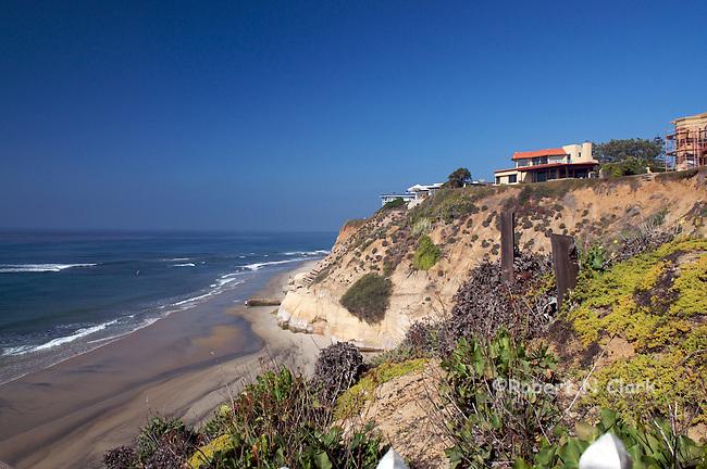 Secluded beach, Solana Beach