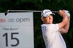 David Drysdale of Scotland tees off the 15th hole during the 58th UBS Hong Kong Golf Open as part of the European Tour on 09 December 2016, at the Hong Kong Golf Club, Fanling, Hong Kong, China. Photo by Marcio Rodrigo Machado / Power Sport Images