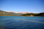 ABRAHAM LAKE & Mt. Michner, JASPER NATIONAL PARK, ALBERTA,CANADA