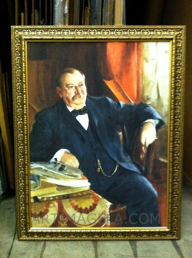 Reproduction of Anders Zorn (1860-1920)<br />
