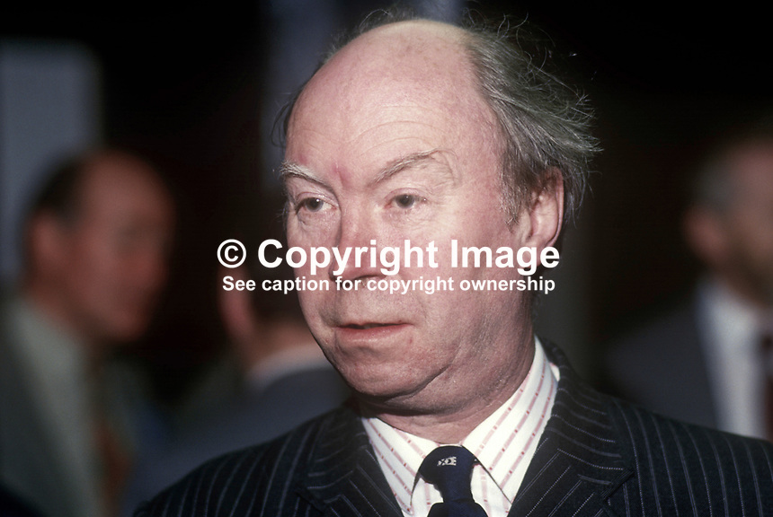 Nicholas Fairbairn, later Sir Nicholas Fairbairn, Conservative Party MP for Perth &amp; Kinross, Scotland, UK, May 1986, 19860506NF<br />