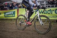 European Champion Toon Aerts (BEL/Telenet-Fidea) leading the race<br /> <br /> elite men's race<br /> GP Sven Nys 2017
