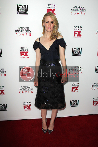 """Sarah Paulson<br /> at the """"American Horror Story Coven"""" Red Carpet Event, Pacific Design Center, West Hollywood, CA 10-05-13<br /> David Edwards/Dailyceleb.com 818-249-4998"""