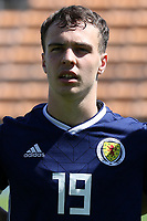 Chris Hamilton of Heart of Midlothian and Scotland U21's during Turkey Under-21 vs Scotland Under-21, Tournoi Maurice Revello Football at Stade Francis Turcan on 9th June 2018