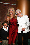 Beth Chamberlin and son Luke and mom Sally - Guiding Light Actors dress up for the Captain's Dinner aboard Carnival's Glory - Day 2 - August 1, 2010 - So Long Springfield at Sea - (Photos by Sue Coflin/Max Photos)