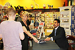 "Fan with The Bold and The Beautiful Don Diamont signed his book ""My Seven Sons and How We Raised Each Other""  - They only drive me crazy 30% of the time - for fans after a Q and A on May 31, 2018 at Books & Greetings in Northvale, New Jersey.  (Photo by Sue Coflin/Max Photo)"