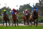 MAY 27: Bolo and Florent Geroux wins the Shoemaker Mile at Santa Anita Park in Arcadia, California on May 27, 2019. Evers/Eclipse Sportswire/CSM