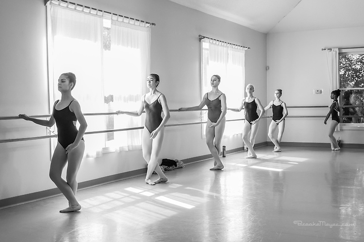 Class & Rehearsal with Visiting Choreographer Francisco Gella, Cary Ballet Conservatory, 15 Oct 2016