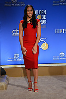 Simone Johnson (daughter of Dwayne Johnson) at the nominations announcement for the 75th Annual Golden Globe Awards at The Beverly Hilton Hotel, Beverly Hills, USA 11 Dec. 2017<br /> Picture: Paul Smith/Featureflash/SilverHub 0208 004 5359 sales@silverhubmedia.com
