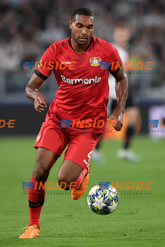 Jonathan Tah of Leverkusen <br /> Torino 01/10/2019 Juventus Stadium <br /> Football Champions League 2019//2020 <br /> Group Stage Group D <br /> Juventus - Leverkusen <br /> Photo Andrea Staccioli / Insidefoto