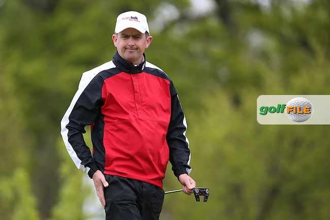 Peter Lawrie (IRL) putting on the 6th during Round One of the 2016 Dubai Duty Free Irish Open Hosted by The Rory Foundation which is played at the K Club Golf Resort, Straffan, Co. Kildare, Ireland. 19/05/2016. Picture Golffile | David Lloyd.<br /> <br /> All photo usage must display a mandatory copyright credit as: &copy; Golffile | David Lloyd.