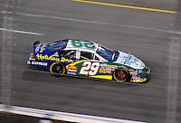 May 1, 2009; Richmond, VA, USA; NASCAR Nationwide Series driver Jeff Burton during the Lipton Tea 250 at the Richmond International Raceway. Mandatory Credit: Mark J. Rebilas-