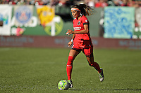Portland, Oregon - Sunday September 4, 2016: Portland Thorns FC forward Nadia Nadim (9) during a regular season National Women's Soccer League (NWSL) match at Providence Park.