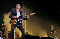 LONDON, ENGLAND - September 10: Alex Turner of 'Arctic Monkeys' performing at the O2 Arena on September 10, 2018 in London, England.<br /> CAP/MAR<br /> &copy;MAR/Capital Pictures