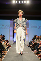 """""""Designer Night"""" runway show during St. Charles Fashion Week in St. Charles, MO on Aug 24, 2012."""