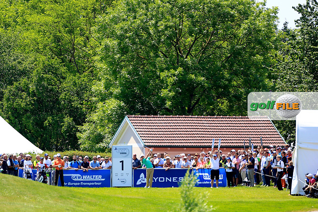 Brett Rumford (AUS) during the first round of the Lyoness Open powered by Organic+ played at Diamond Country Club, Atzenbrugg, Austria. 8-11 June 2017.<br /> 08/06/2017.<br /> Picture: Golffile | Phil Inglis<br /> <br /> <br /> All photo usage must carry mandatory copyright credit (&copy; Golffile | Phil Inglis)