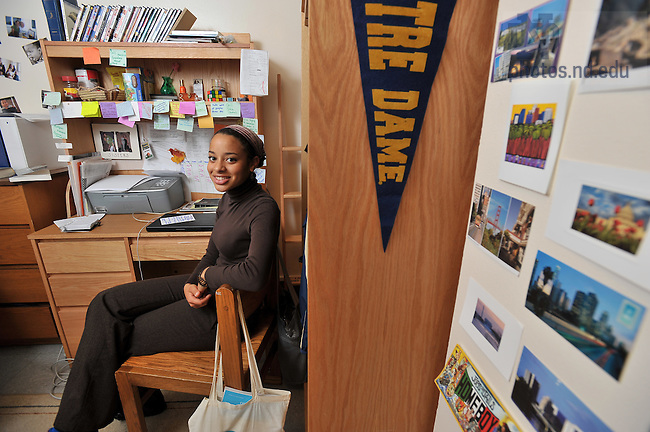 Amazing Amber Herkey In Her Cavanaugh Hall Dorm Room For Notre Dame Magazine..Photo  By Part 19