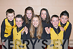 Currow dancers who won the International Set Dancing championships in Manchester, England last weekend front row l-r: Thomas Barrett, Eimear Horgan, Eoghan McMahon. Back row: Paul O'Connor, Fiona Nelligan, Niamh O'Connor and Aaron Fleming