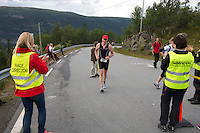 Race number 211 - Jeroen Van Amelsfoort  Norseman 2012 - Photo by Justin Mckie Justinmckie@hotmail.com