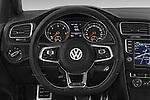 Car pictures of steering wheel view of a 2014 Volkswagen GOLF GTD 5 Door Hatchback Steering Wheel