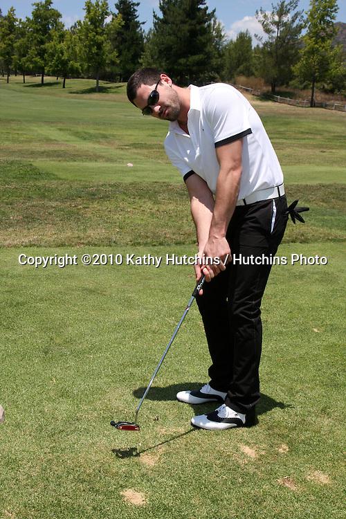 Maksim Chmerkovskiy..at the 2010 Women In Film Annual Golf Tournament.Malibu Country Club.Malibu, CA.July 10, 2010.©2010 Kathy Hutchins / Hutchins Photo.....