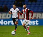 Daniel Lafferty of Sheffield Utd during the Championship match at the Macron Stadium, Bolton. Picture date 12th September 2017. Picture credit should read: Simon Bellis/Sportimage