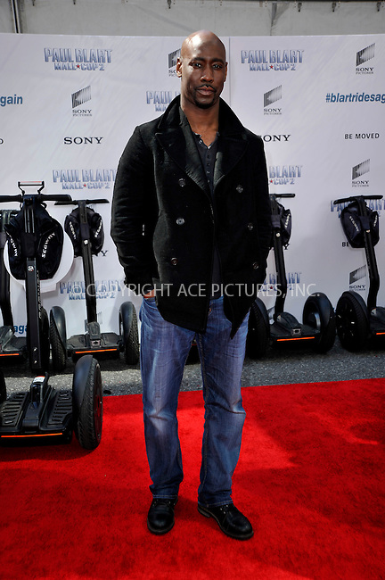 WWW.ACEPIXS.COM<br /> <br /> April 11 2015, New York City<br /> <br /> D.B. Woodside arriving at the 'Paul Blart: Mall Cop 2' New York Premiere at AMC Loews Lincoln Square on April 11, 2015 in New York City.<br /> <br /> By Line: Curtis Means/ACE Pictures<br /> <br /> <br /> ACE Pictures, Inc.<br /> tel: 646 769 0430<br /> Email: info@acepixs.com<br /> www.acepixs.com