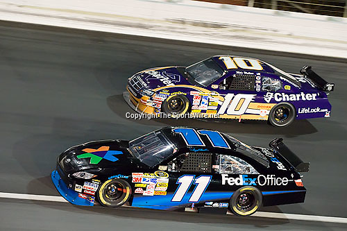 Oct 11, 2008; 7:40:58 PM;  Concord, NC, USA; Nascar Sprint Cup Series for the Bank of America 500  at Lowe's Motor Speedway. Mandatory Credit: Joey Millard