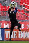 20 November 2010:  Josh Lambo (22) of FC Dallas.  FC Dallas held a practice at BMO Field, Toronto, Ontario, Canada as part of their preparations for MLS Cup 2010, Major League Soccer's championship game.