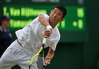 England, London, 28.06.2014. Tennis, Wimbledon, AELTC,Jumpel Yamasaki (JPN) <br /> Photo: Tennisimages/Henk Koster