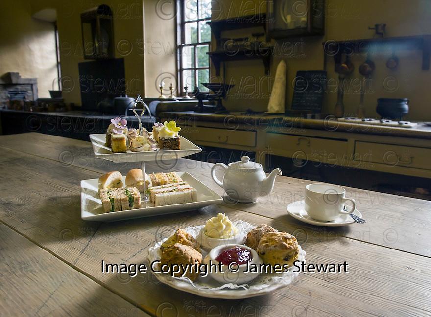 Afternoon Tea,  Callendar House