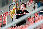 09.06.2020, xtgx, Fussball 3. Liga, Hallescher FC - SV Waldhof Mannheim emspor, v.l. Florian Schnorrenberg (Halle, Trainer) auf der Tribuene beim Spiel in der 3. Liga, Hallescher FC - SV Waldhof Mannheim.<br /> <br /> Foto © PIX-Sportfotos *** Foto ist honorarpflichtig! *** Auf Anfrage in hoeherer Qualitaet/Aufloesung. Belegexemplar erbeten. Veroeffentlichung ausschliesslich fuer journalistisch-publizistische Zwecke. For editorial use only. DFL regulations prohibit any use of photographs as image sequences and/or quasi-video.