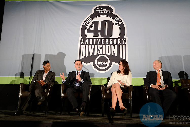 16 JAN 2014: The Division II 40th Anniversary Celebration takes place during the 2014 NCAA Convention in San Diego, CA.  Jamie Schwaberow/NCAA Photos (Pictured: Brian Kilmeade)