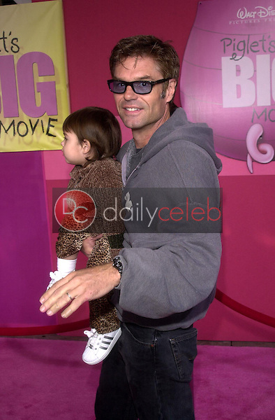 Harry Hamlin and his daughter Amelia