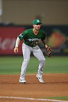 Daytona Tortugas third baseman Jonathan India (6) during a Florida State League game against the Palm Beach Cardinals on April 11, 2019 at Roger Dean Stadium in Jupiter, Florida.  Palm Beach defeated Daytona 6-0.  (Mike Janes/Four Seam Images)