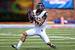 TCU Horned Frogs wide receiver Cameron Echols-Luper (15) in action during the game between the TCU Horned Frogs and the SMU Mustangs at the Gerald J. Ford Stadium in Fort Worth, Texas. TCU defeats SMU 56 to 0.
