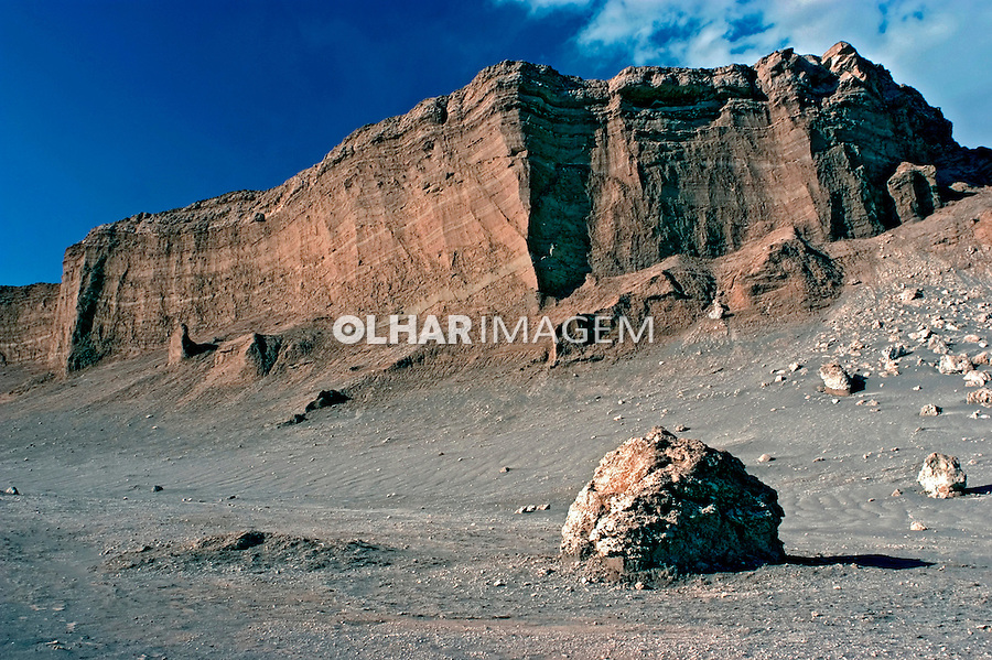 Vale La Luna no Deserto do Atacama. Chile. 2004. Foto de Maristela Colucci.