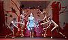 English National Ballet <br /> Triple Bill at Sadler's Wells, London, Great Britain <br /> 12th April 2016 <br /> world premier rehearsal <br /> <br /> <br /> Broken Wings<br /> choreography by Annabelle Lopez Ochoa<br /> <br /> Tamara Rojo as Frida Khalo<br /> <br /> <br /> <br /> <br /> Photograph by Elliott Franks <br /> Image licensed to Elliott Franks Photography Services