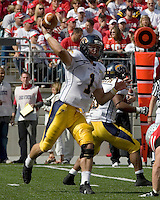 13 October 2007: Kent State quarterback Julian Edelman (1)..The Ohio State Buckeyes defeated the Kent State Golden Flashes 48-3 on  October 13, 2007 at Ohio Stadium, Columbus, Ohio.