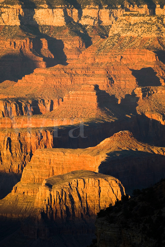 Views from the South Rim of the Grand Canyon, Arizona