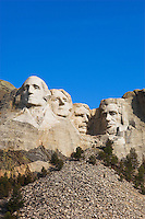 Mount Rushmore viewed from visitor's center